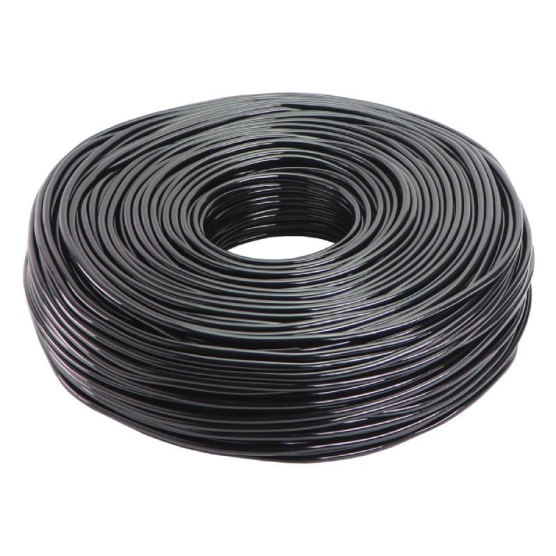 Dây tưới nhỏ giọt PVC dẻo đen 6mm
