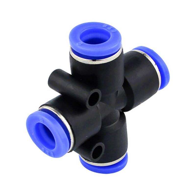 Nối chữ thập PZA ống 8mm