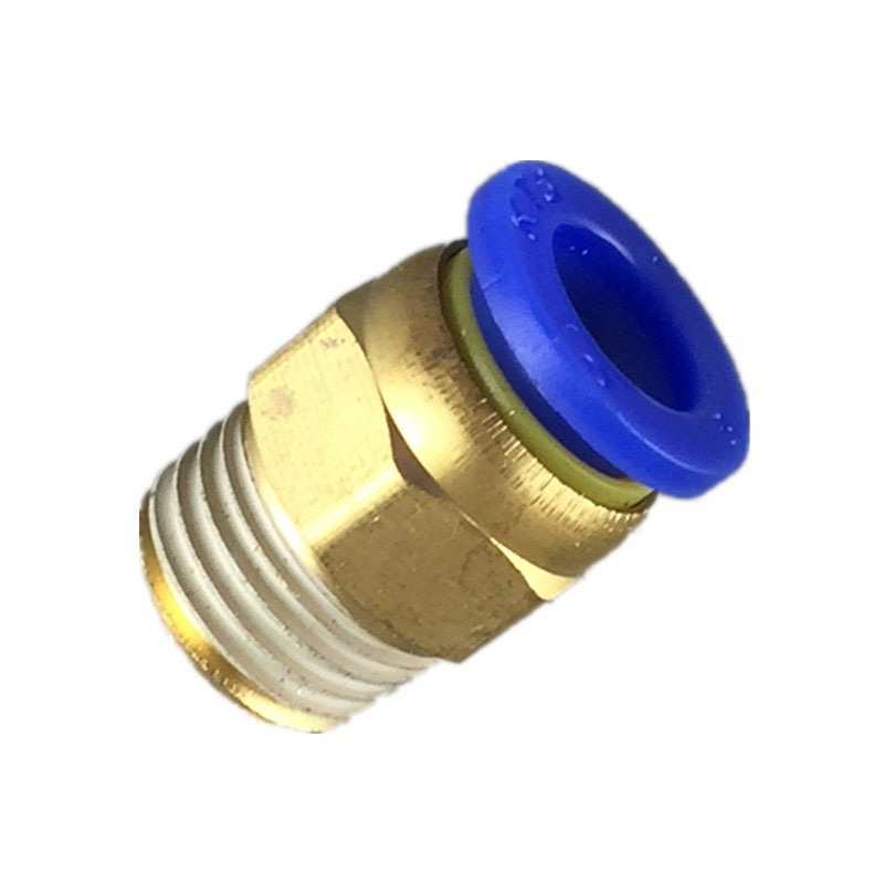 Nối thẳng PC ren ngoài 17mm ống 8mm