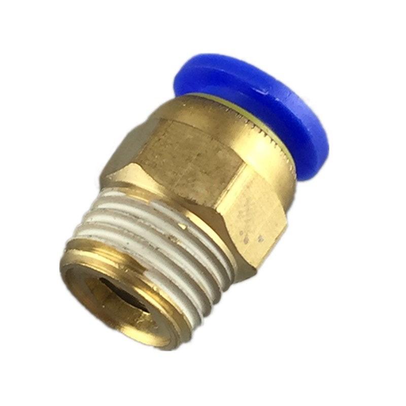Nối thẳng PC ren ngoài 21mm ống 8mm