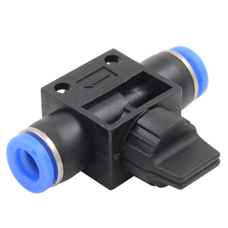 Van khóa ống 8mm nhựa