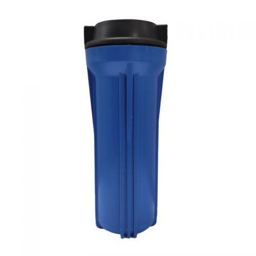 Vỏ bình lọc nước máy phun sương màu xanh