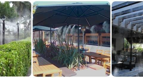 Cách chọn mua hệ thống phun sương quán Cafe