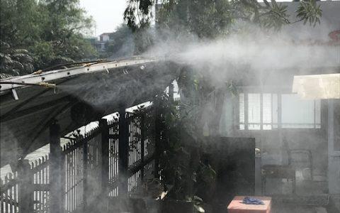 Dịch vụ lắp đặt máy phun sương ống đồng tại Tphcm